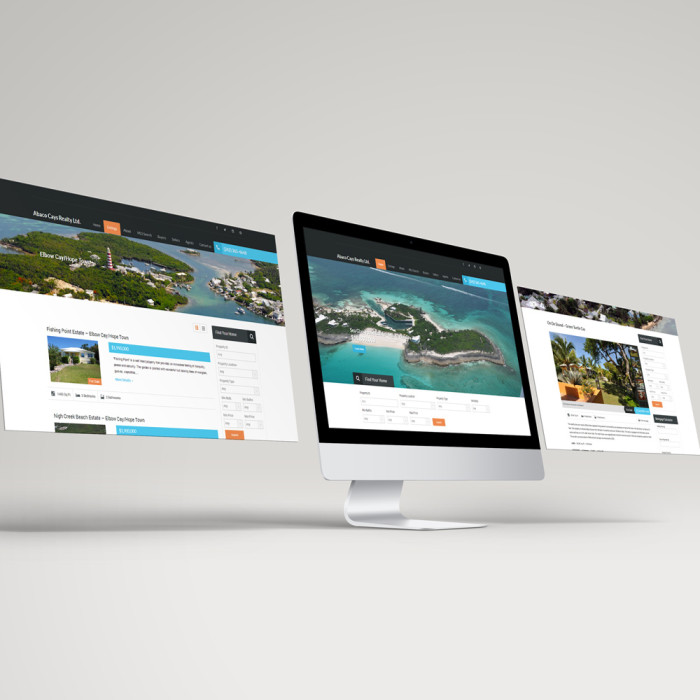 Abaco Cays Realty – Website Design