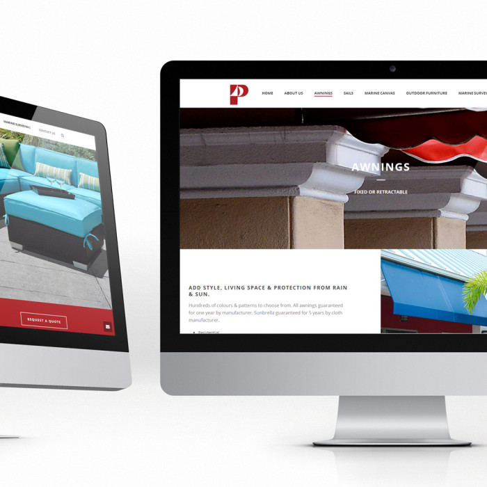Phillips Sailmakers – Website Design